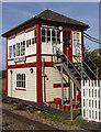 TF0706 : Uffington Level Crossing Signal Box by Glyn Weekes