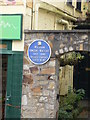 Photo of William Vincent Wallace blue plaque