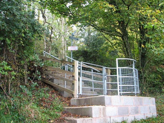 Kissing Gate on Offa's Dyke Path