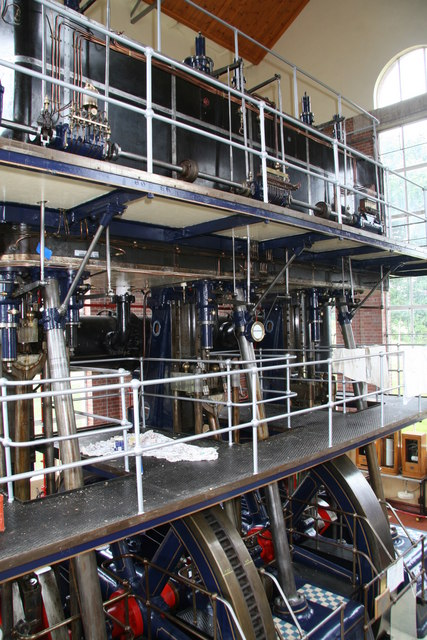 Steam engine, Brede Waterworks