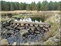 NN9249 : Dam, ford or bridge by Russel Wills