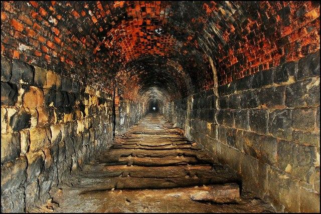 Ridge lane abandoned tramway tunnel