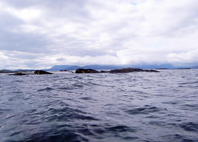 Rocks north of Ardban