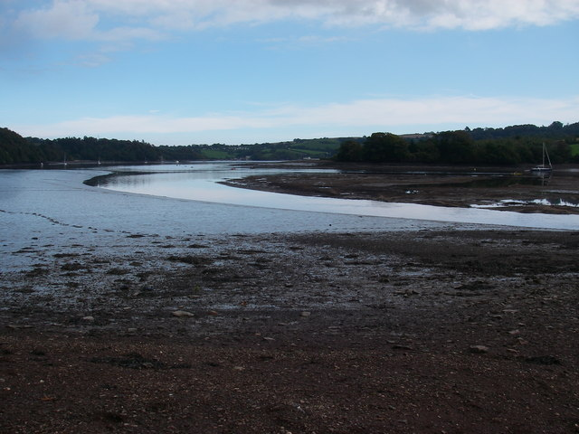 Low tide at Sandridge