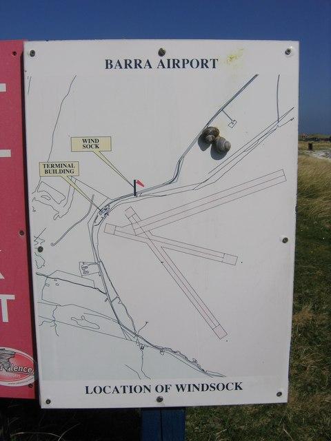 Barra airport map john proctor cc by sa20 geograph britain barra airport map sciox Choice Image