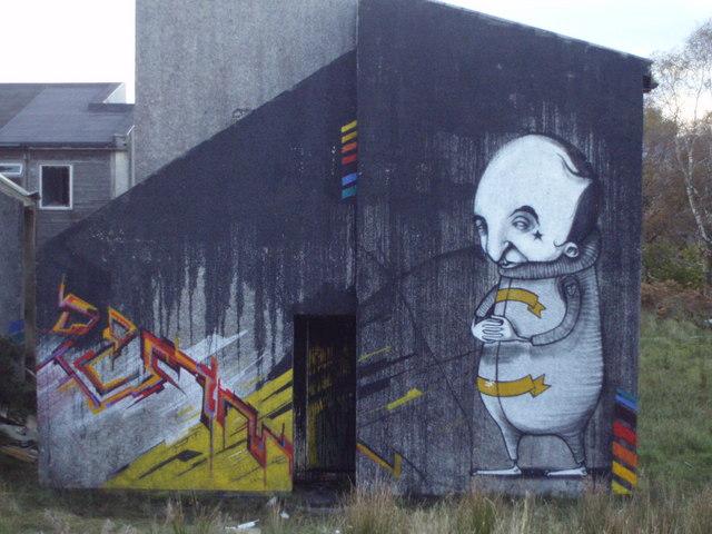 Graffiti Pollphail Portavadie