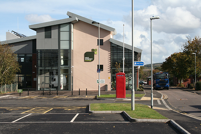 Car N Go >> Williton: West Somerset Council offices © Martin Bodman ...