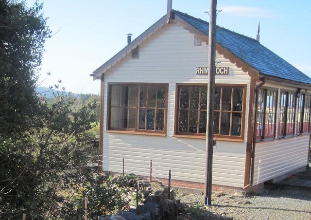 Rhiw Goch signal cabin
