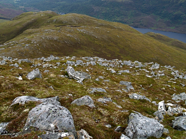 SE slopes of Garbh-charn
