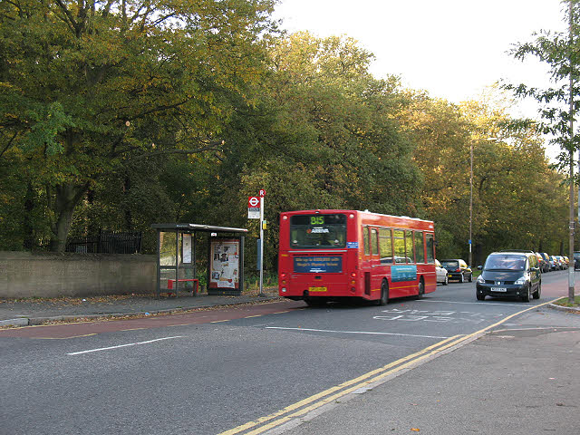 Bus stop on Rochester Way, Falconwood