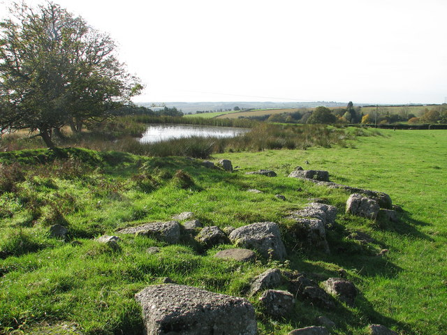 Pond on Gaer Hill