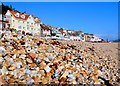 SY3491 : Bay Hotel, Lyme Regis Beach : Week 43