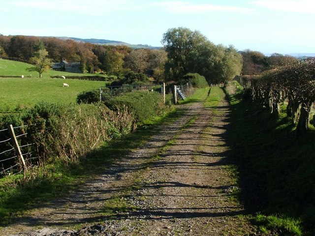 Approach to Kipperoch Farm