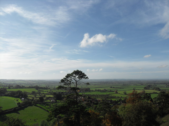View From Cadbury Castle Pam Goodey Geograph Britain