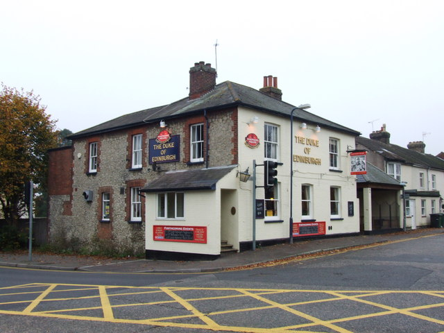 The Duke of Edinburgh, Barming