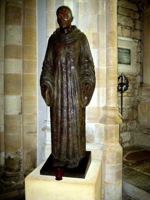 St Aldhelm - Sherborne Abbey