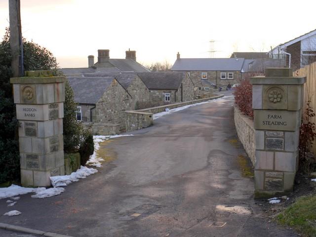 Heddon Banks Farm Steading