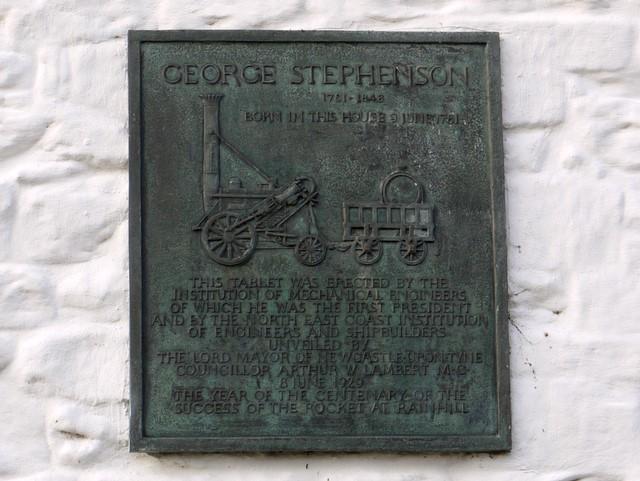 George Stephenson's cottage, Wylam