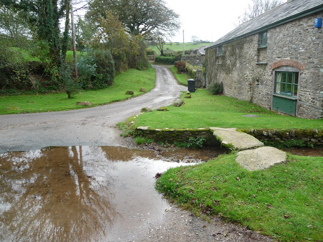 The ford at Grimpstoneleigh