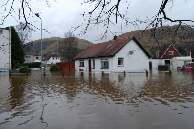 Tillicoultry Flood