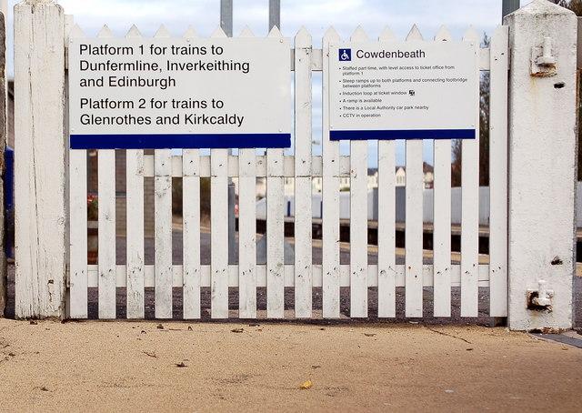 Cowdenbeath Station