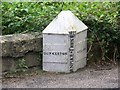 ST7159 : Boundary Post, Dunkerton by Maigheach-gheal