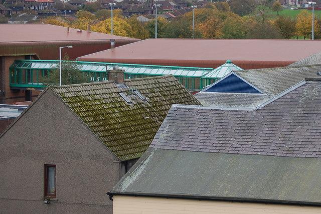 Cowdenbeath roof tops