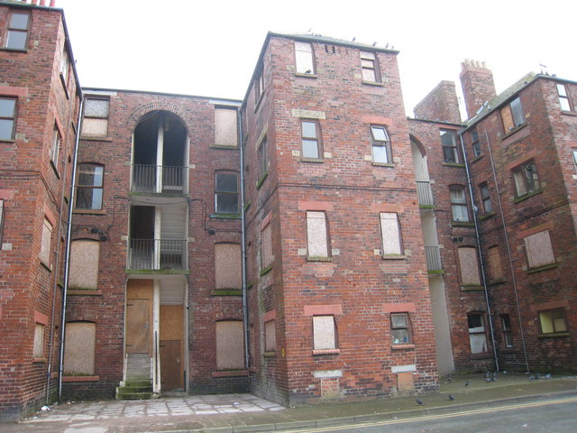 Tenement Blocks on Barrow Island