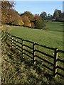 SP3745 : Fence near Upton House : Week 43