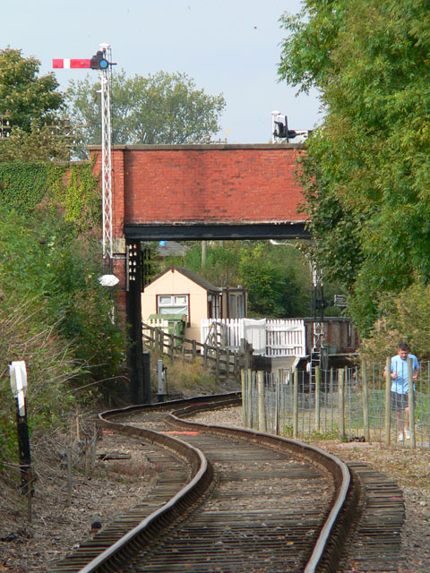 Approaching Pitsford and Brampton Station