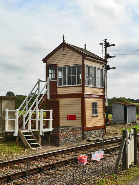 Pitsford Sidings Signal Box
