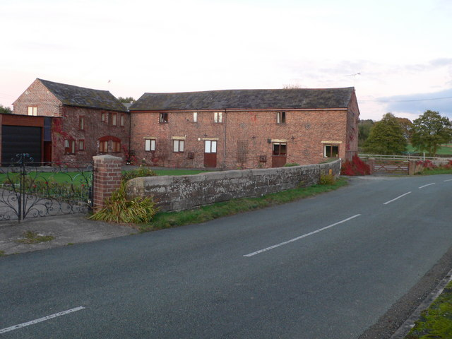 Converted barns at Brook Bank Farm