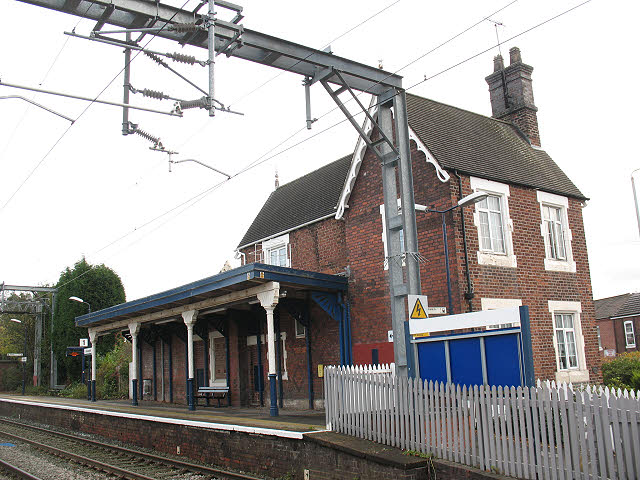 Alsager station buildings