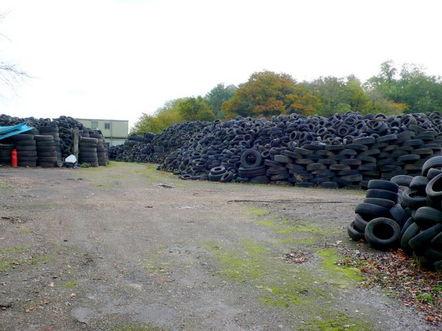 Scrap Tyre Storage Yard, Ashfield