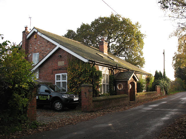 The old school house, Davenport Park Lane
