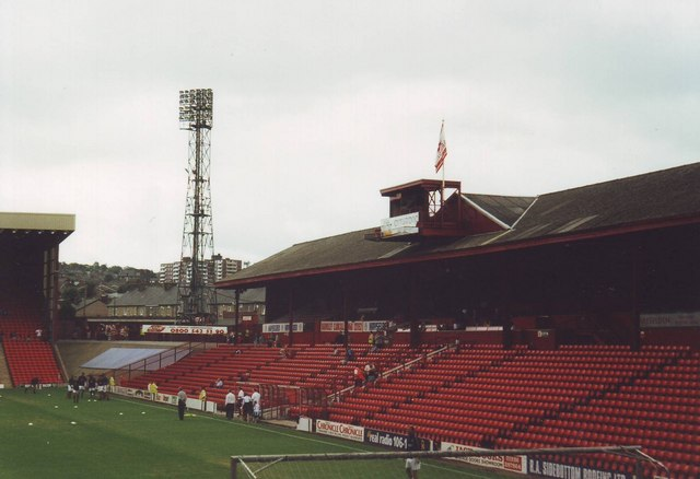 The West Stand, Oakwell, Barnsley FC