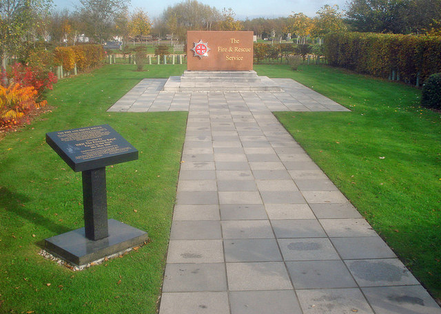 Fire & Rescue Service Monument