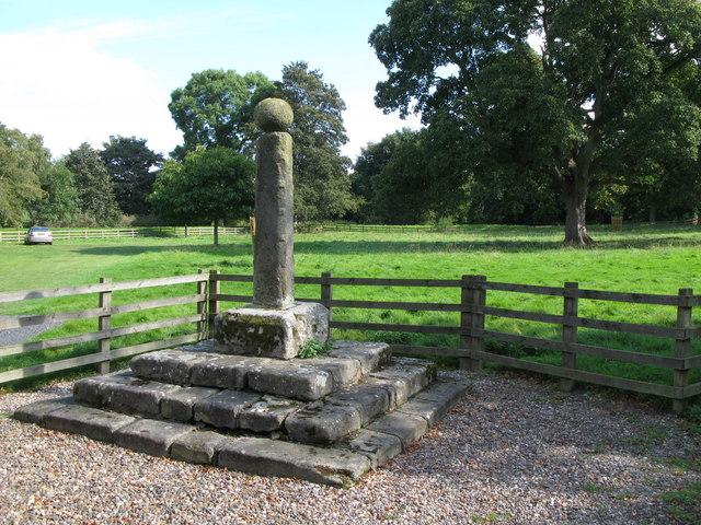 Village Cross, Bywell