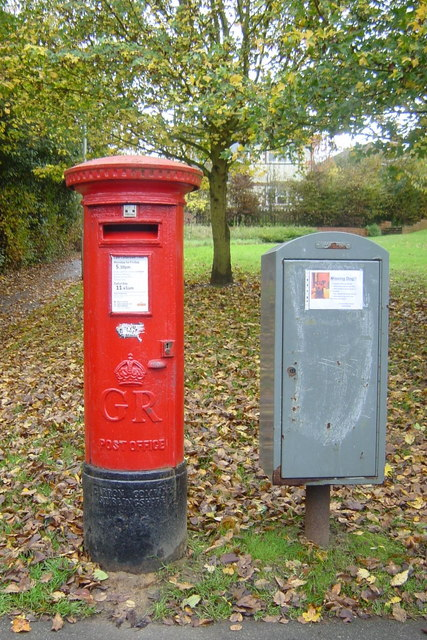 Postbox and Postal Rounds box Orchard Heights