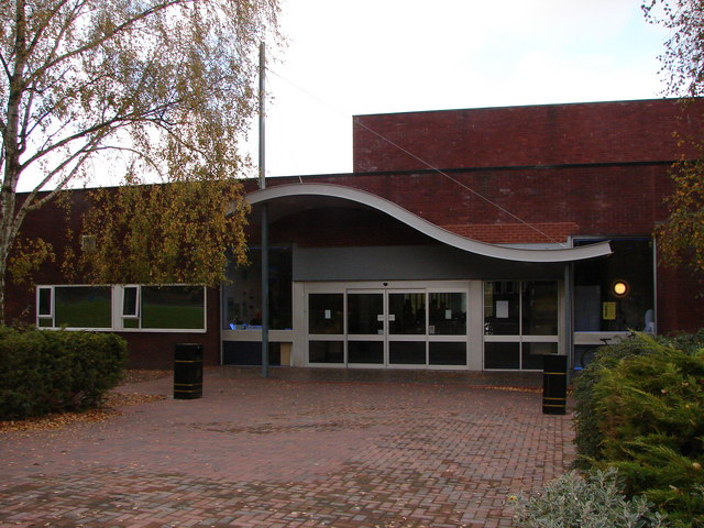 Wyndley swimming pool entrance john proctor geograph britain and ireland Swimming pool sutton coldfield