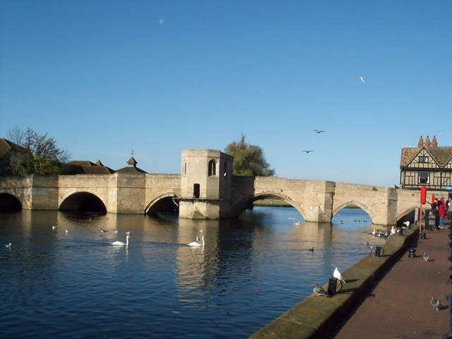 St Ives Bridge and Chapel