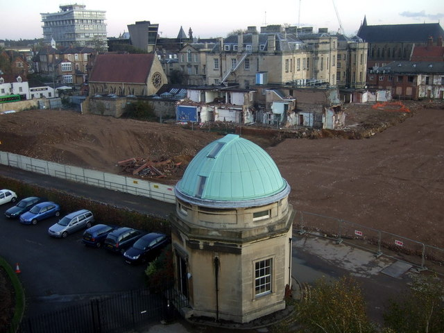 Excavations behind the Radcliffe Infirmary