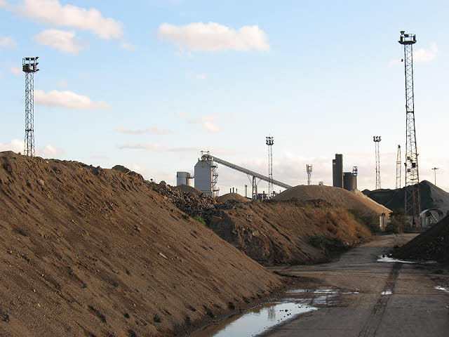 Hanson Aggregates, North Greenwich (1)