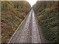 SP1097 : Railway Line passing through Sutton Park by John Proctor