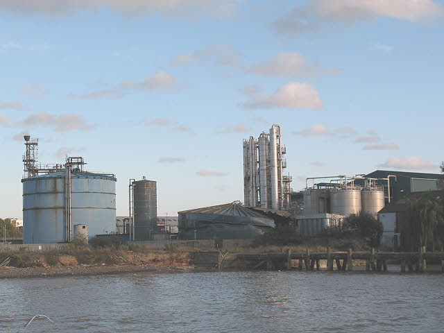 Amylum works, Greenwich Peninsula (1)