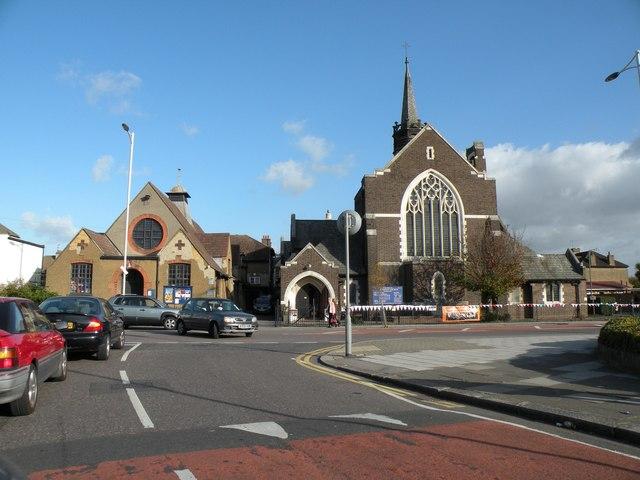 All Saints church in Goodmayes