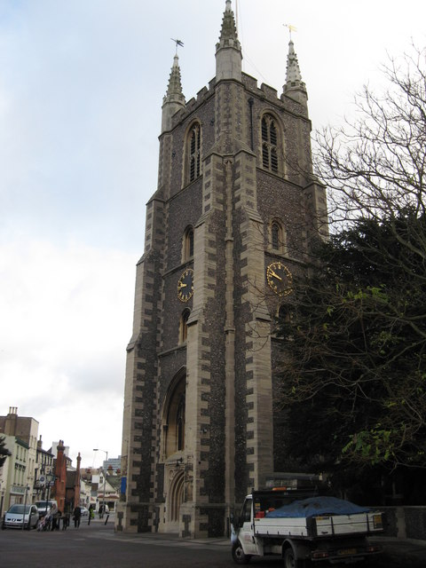 Croydon Parish Church Tower, Croydon