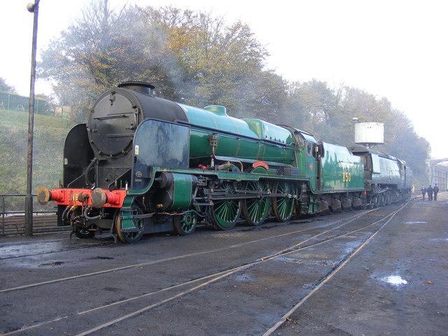 Locomotives at Ropley MPD