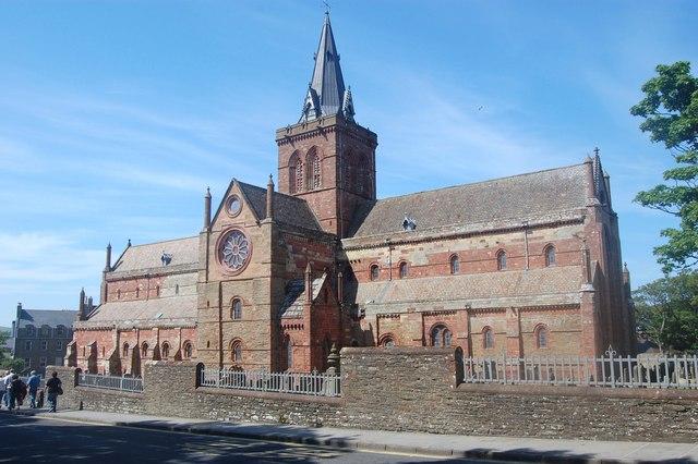 Magnuskatedralen i Kirkwall