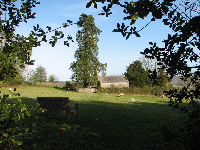 Penterry Church and memorial seat